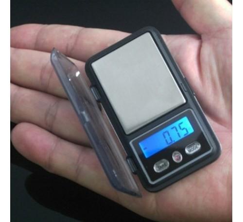 Электронные ювелирные (миниатюрные) весы с чехлом (0,01г-200г) / MINI-200
