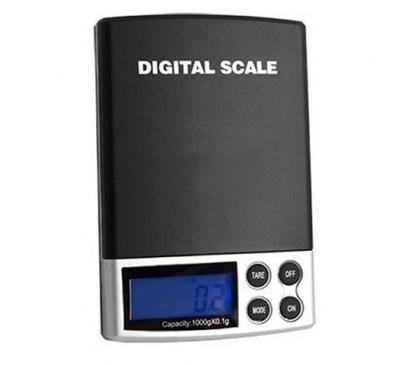 Электронные ювелирные (карманные) весы с чехлом (0,1-1000 г)