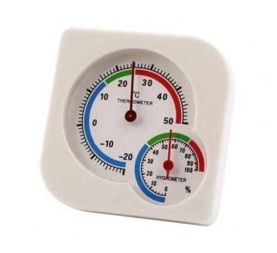 """Термометр + гигрометр (механика) """"Двойной"""" 1 шт."""