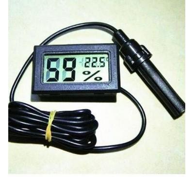 Термометр + гигрометр компакт с выносным датчиком/щупом (1 шт.)