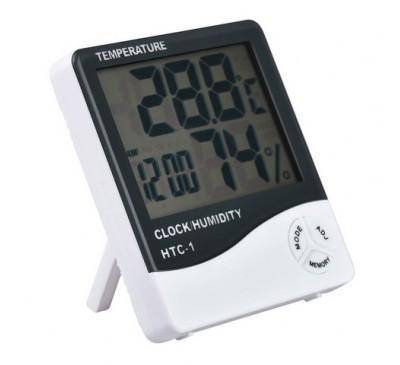 Термометр + гигрометр цифровой HTC-1 (1 шт.)