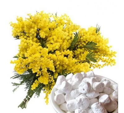 Ладан (смола) + натуральный ароматизатор Мимоза (5 г) / Boswellia sacra