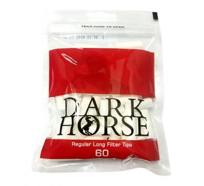 Фильтры для самокруток (8 мм, 100 шт.) / Dark horse Long