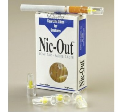 """Фильтр для сигарет """"Nic-Out"""", 30 шт./уп."""