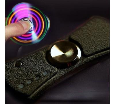 Электронная зажигалка-спиннер с подсветкой(USB-зарядка) / Electric lighter