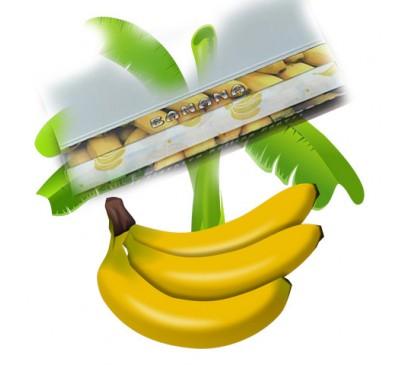 """Бумага для самокруток ароматизированная """"Банан"""" (110 мм, 32 шт.) / Hornet Banana"""