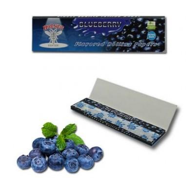 """Бумага для самокруток ароматизированная """"Голубика"""" (110 мм, 32 шт.) / Hornet Blueberry"""