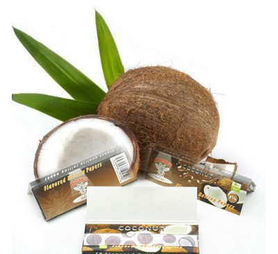 "Бумага для самокруток ароматизированная ""Кокос"" (110 мм, 32 шт.) / Hornet Coconut"