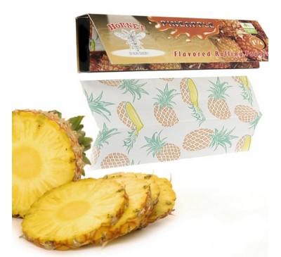 """Бумага для самокруток ароматизированная """"Ананас"""" (110 мм, 32 шт.) / Hornet Pineapple"""