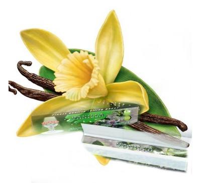 "Бумага для самокруток ароматизированная ""Ваниль"" (110 мм, 32 шт.) / Hornet Vanilla"