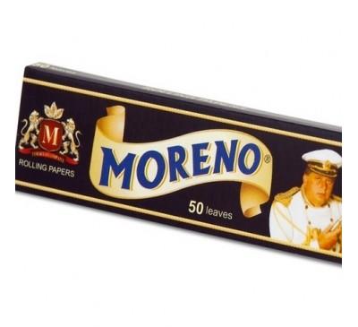 Бумага для самокруток (70 мм, 50 шт.) / Moreno Black