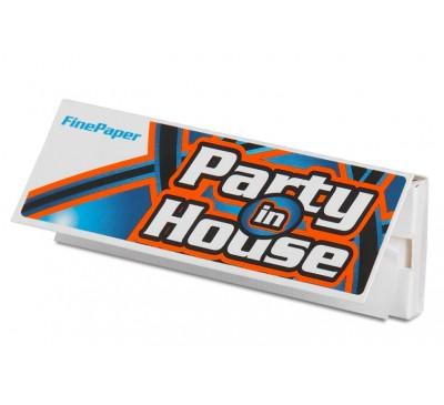 Бумага для самокруток (69 мм, 50 шт.) / Party in House Shorts White